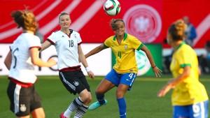 4:0 - DFB-Elf führt Brasilien vor
