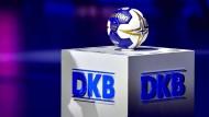 Handball auf dem DKB-Präsentiertteller: Die WM gibt's nur im Internet.
