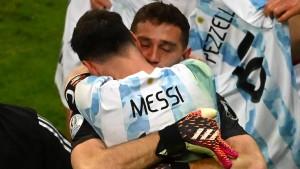 Messi und Argentinien im Copa-Endspiel gegen Brasilien