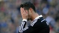 Rot für Cristiano Ronaldo