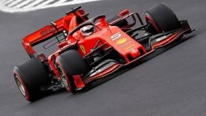 Vettel bleibt nur noch ein wenig Ironie