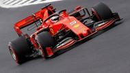Sebastian Vettel startet nur von Platz sechs ins Rennen am Sonntag.