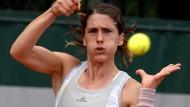 Auch Andrea Petkovic scheidet bei den French Open aus.