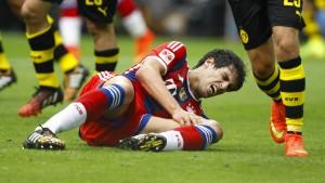 Schmerzhafte Niederlage für die Bayern