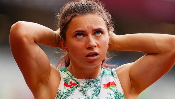 Wollte Belarus eine kritische Sportlerin entführen?
