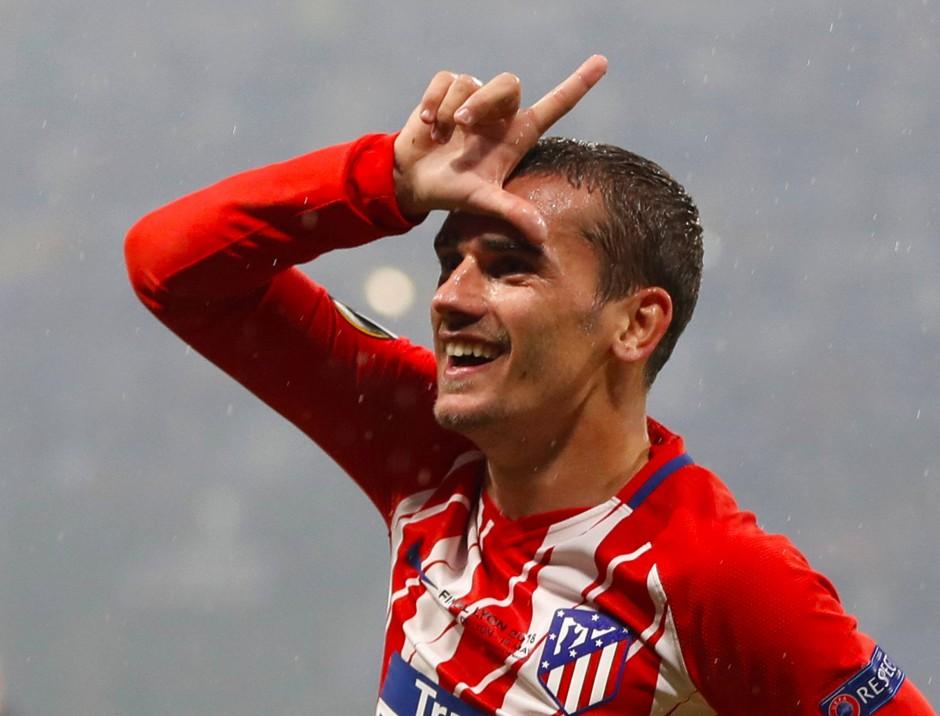 Der Doppeltorschütze: Antoine Griezmann traf zweimal für Atlético Madrid.