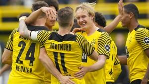 Dortmunder Zitterpartie mit Happy End