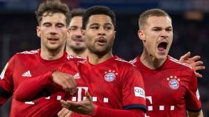 Die Bayern nähern sich Dortmund