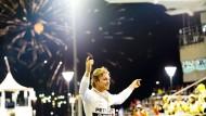 Die Sonne geht unter, der Stern von Nico Rosberg wieder auf?