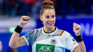 Nicht nur Emily Bölk zeigte eine starke Leistung gegen Spanien.