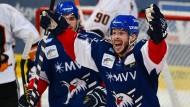 Ende der Wohlfühloase: Erstmals seit 2007 können die Mannheimer wieder Eishockey-Meister werden