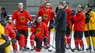 Die Angst spielt mit beim deutschen Team