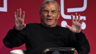 Kritik an den Sportfunktionären: Sir Martin Sorrell
