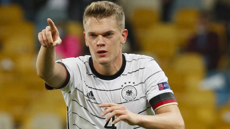 Sein Vertrag in Mönchengladbach läuft aus: Matthias Ginter, hier im Trikot der DFB-Auswahl