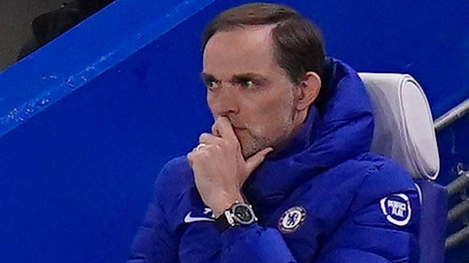 Nachdenklich bei der Niederlage gegen Arsenal: Chelsea-Trainer Thomas Tuchel