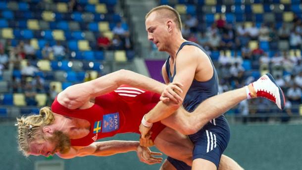 Stäbler holt die erste deutsche Medaille