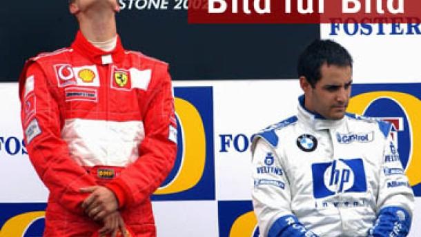 Michael Schumacher: Siebter Saisonsieg in Silverstone