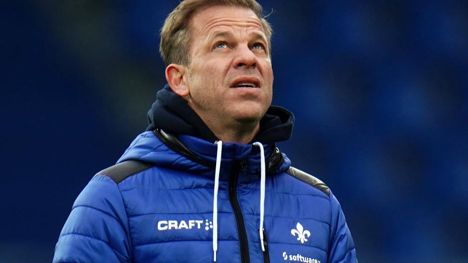 Ab in den Norden: Trainer Markus Anfang zieht es von Darmstadt nach Bremen.