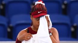 Die Tränen der Naomi Osaka