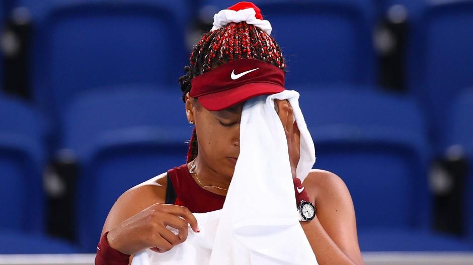 Für Naomi Osaka sind die Olympischen Spiele schon wieder vorbei.