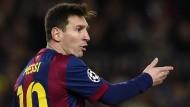 Lionel Messi wird im kommenden Jahr keine neuen Kollegen begrüßen dürfen in Barcelona