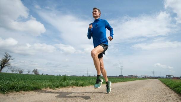 Weiterlaufen und hoffen, dass die Forscher schneller sind