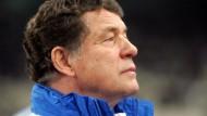 Mit 71 in der WM-Relegation: Griechenland-Trainer Otto Rehhagel