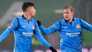 Erster Sieg für Leverkusen mit Bosz