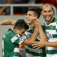 Sporting Lissabon steht problemlos in der Gruppenphase der Fußball-Champions-League