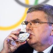 Das Wort Staats-Doping kam IOC-Präsident Thomas Bach partout nicht über die Lippen.