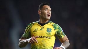 Rugby-Star Folau fliegt raus