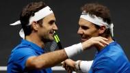 Roger Federer und Rafael Nadal lassen das Tennis strahlen – aber wie lange noch?