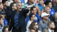 Provokateur an der Seitenlinie: Mourinho wäre im Rugby fehl am Platze