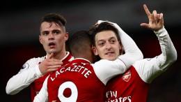 Verrücktes Spiel zwischen Arsenal und Liverpool