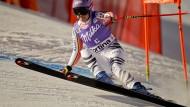 Einzige echte deutsche WM-Hoffnung bei den Damen: die frühere Weltmeisterin Viktoria Rebensburg hat mehrere Medaillenchancen
