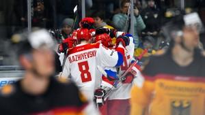 Debakel für deutsches Eishockey-Team