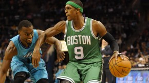 Neuer Mann bei den Mavericks: Rajon Rondo (9) kommt von den Boston Celtics