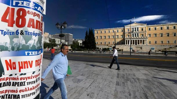 48 Stunden soll der Generalstreik in Griechenland gegen das Sparpaket dauern