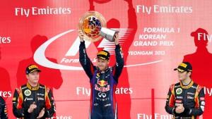 Seriensieger Vettel ist nicht aufzuhalten