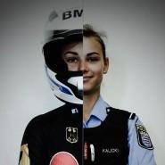 Duale Karriere: Kim Kalicki ist Polizistin und Bobpilotin.