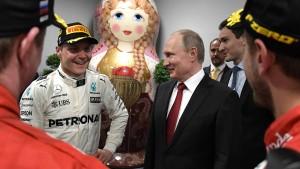 Die Formel 1 ist Putins Bühne