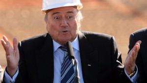 Blatter und deutsches Know-how sorgen am Kap für Hoffnung