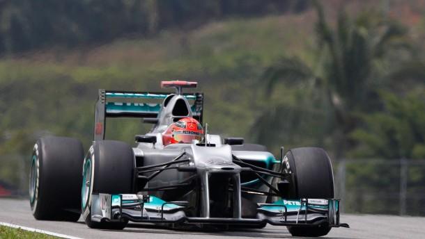 Schumacher Zweiter