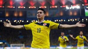 James schießt Kolumbien und sich selbst in die Weltspitze