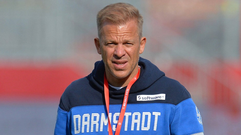 Noch zwei Spiele in dieser Saison: Darmstadt-Coach Markus Anfang