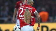 Auch ein schöner Rücken ... Artur Vidal gab sein letztes Hemd im Pokalfinale