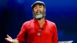 Der bizarre Auftritt des Eric Cantona