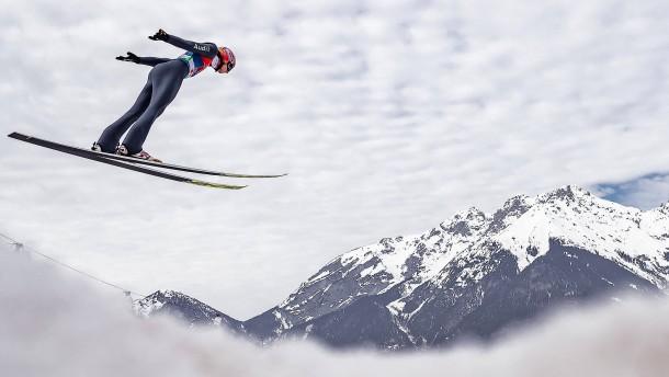 Deutsche Skispringer holen WM-Gold im Team