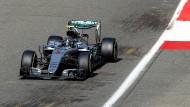 Rosberg startet vorne, Hamilton in letzter Reihe