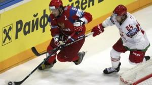 Russland als Gruppensieger gegen Deutschland